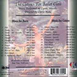 The Classics for Ballet Class Verso