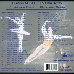 Classical Ballet Variations Verso