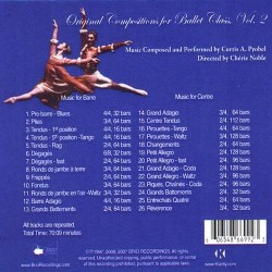 Original Compositions for ballet class vol2 Verso