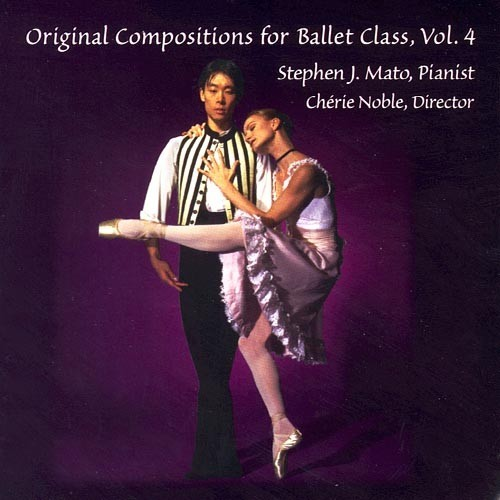Original Compositions for ballet class vol4 Recto