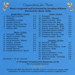 Compositions for pointe Verso