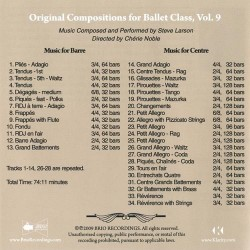 original Compositions for ballet class vol9 Verso