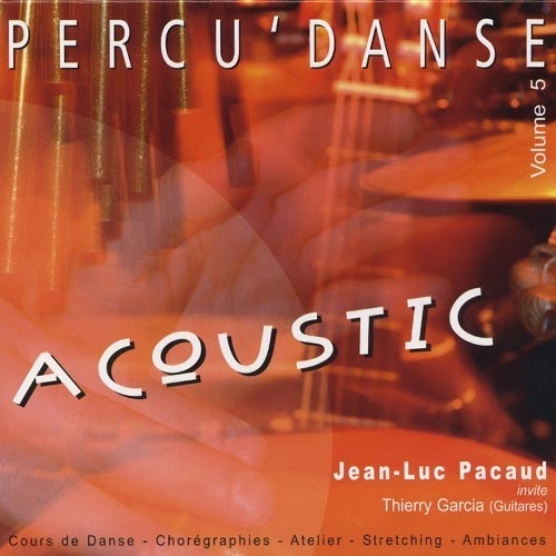 Percu'danse vol 5 Acoustic Recto