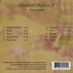 Gradual Motion 2 Verso